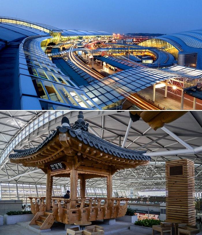 مطار إنشيون-سيول الدولي في كوريا الجنوبية