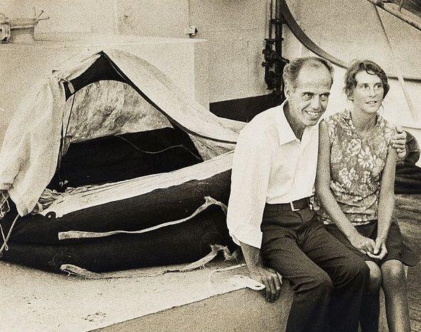«موريس» و «مارلين بايلي» - 4 أشهر في عرض المحيط