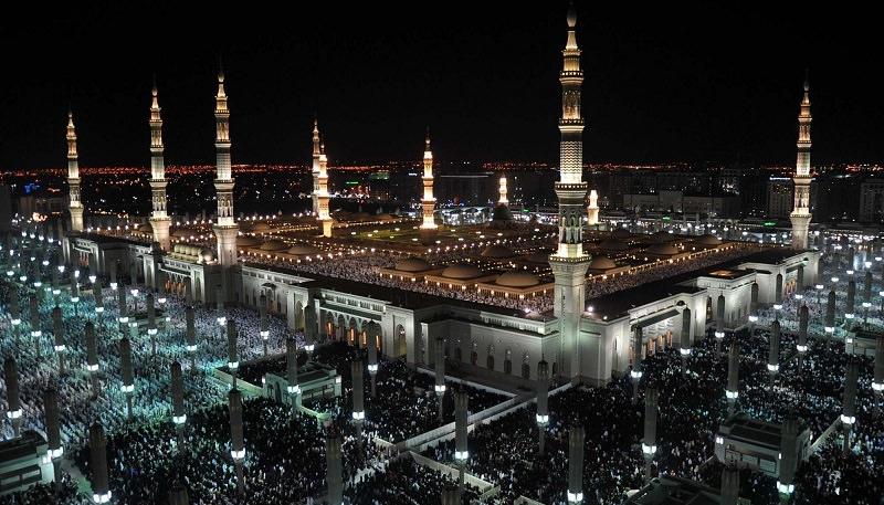 المسجد النبوى (المدينة المنورة - المملكة العربية السعودية)