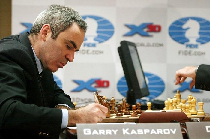 جاري كاسباروف - معدل ذكاء 190