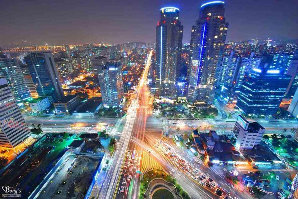 مدينة سيول ، كوريا الجنوبية