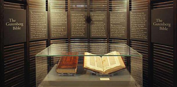 إنجيل غوتنبيرغ ((The Gutenberg Bible))