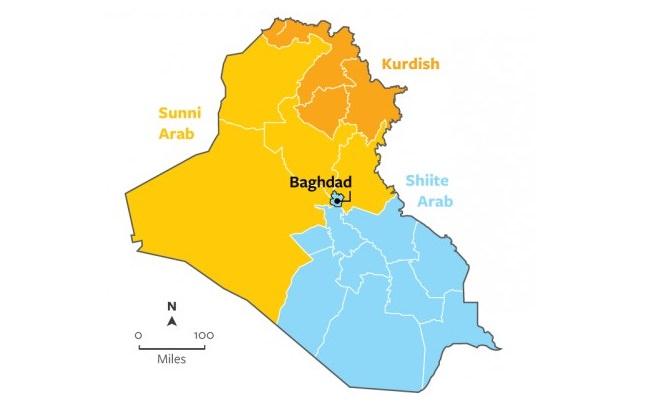 العراق السني والشيعي