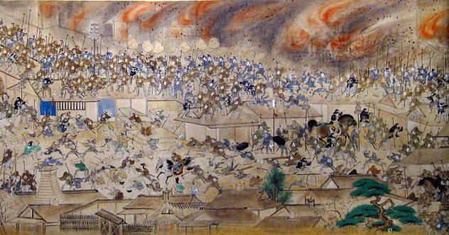 حريق ميرييكي، اسوأ حرائق التاريخ - اليابان سنة 1657