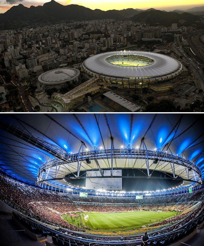 ملعب ماراكانا، البرازيل - 88 ألف متفرج
