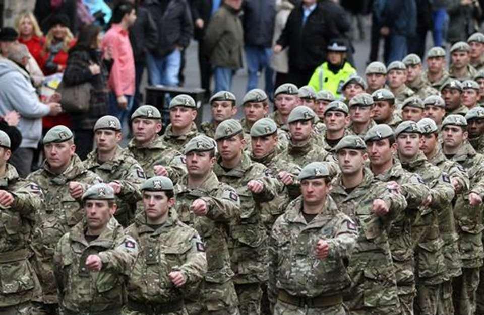 المركز الثامن: المملكة المتحدة – الجيش البريطاني الملكي