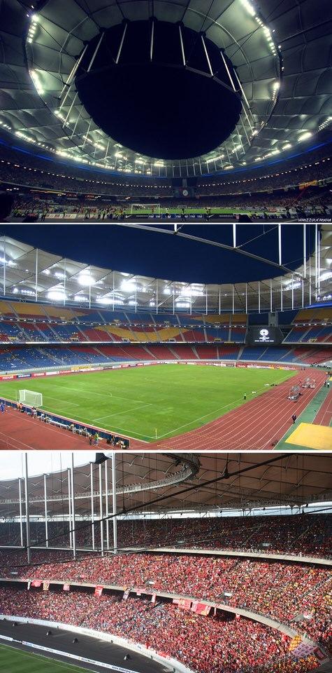 ملعب بوكيت جليل الوطني، ماليزيا - 100 ألف متفرج