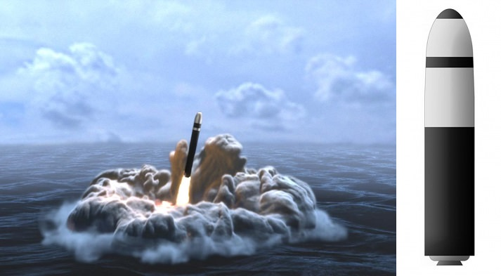 صاروخ ترايدنت - 65 مليون دولار