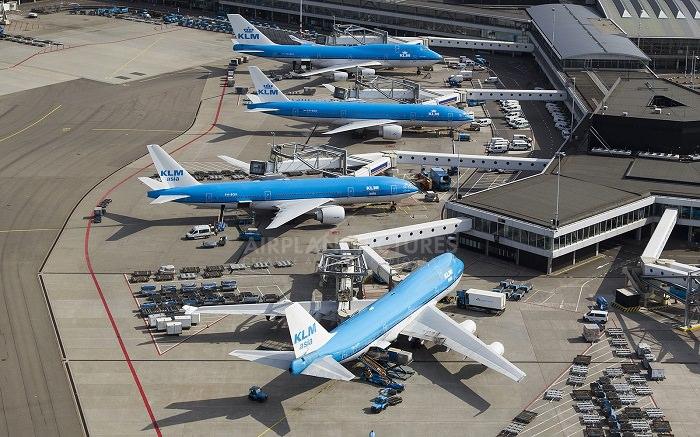 مطار شيبول في أمستردام عام 2005 - 118 مليون دولار تقريباً