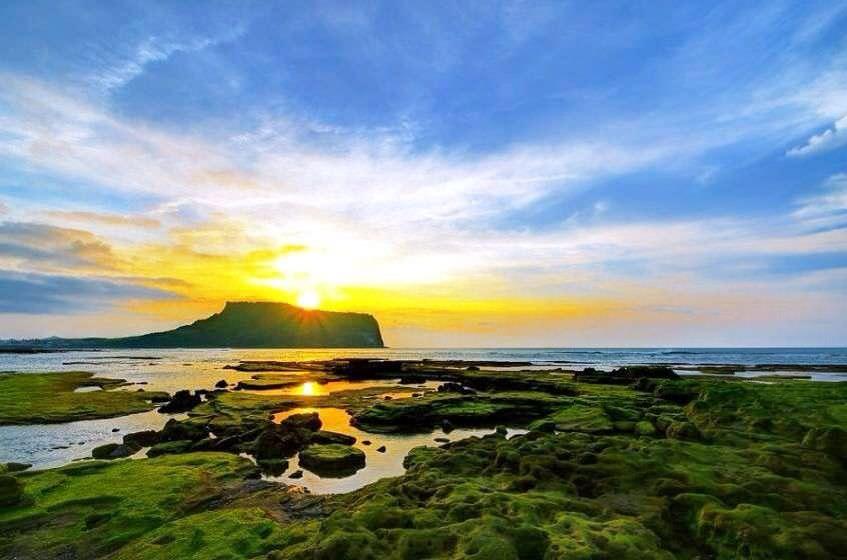 جزيرة جيجو بكوريا الجنوبية