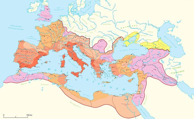 إمبراطورية الروم - من 27 ق.م. إلى 1453 م