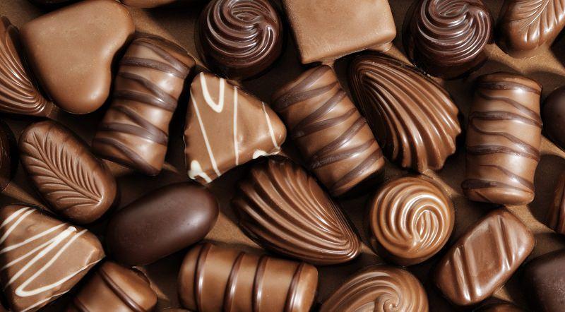 إنها ليست حقا شوكولاته
