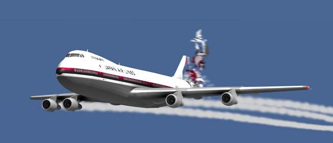 الخطوط الجوية اليابانية - عدد الوفيات 766 شخص