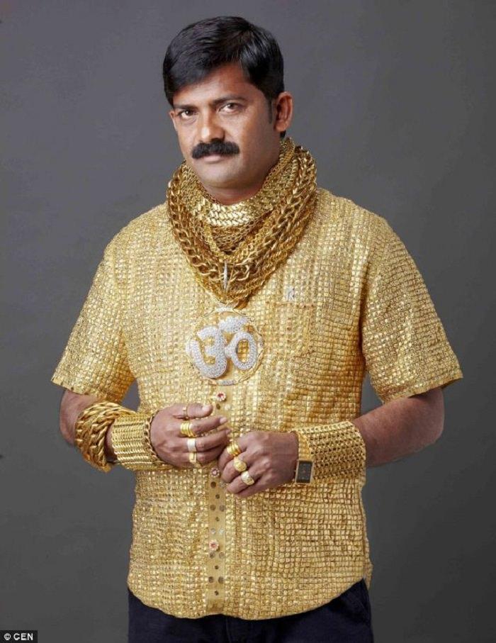 القميص الذهبي