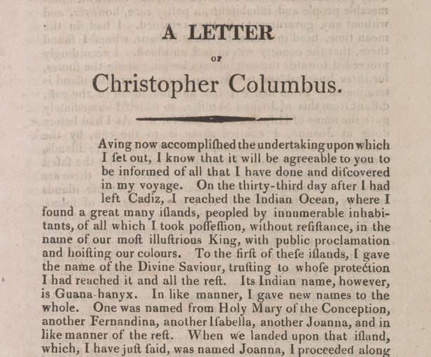 رسالة كولومبوس