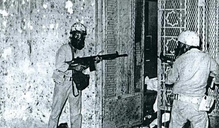 سنة 1979 - مقتل 153 بعد إستيلاء مسلحين على المسجد الحرام