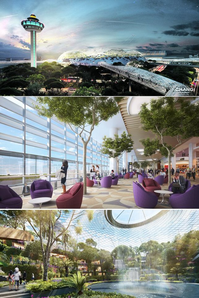 مطار شانغي-سينغابورا، افضل مطارات العالم
