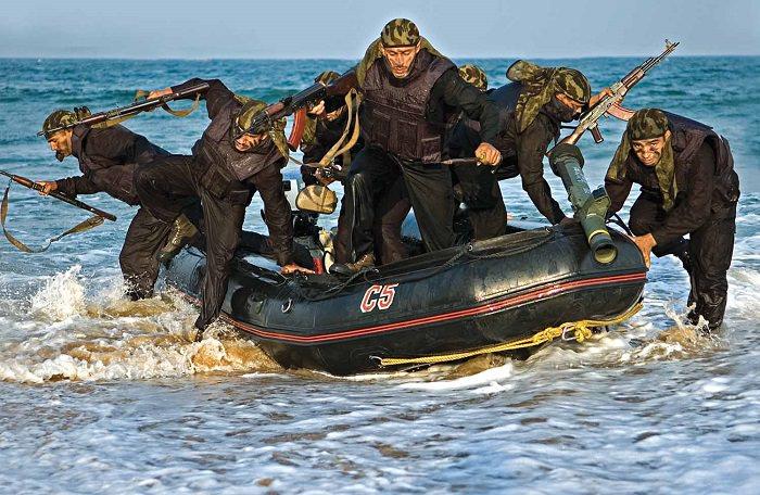 قوة الكوماندوز البحرية «MARCOS» - الهند