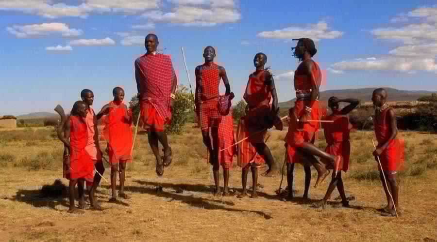 البصق في كينيا