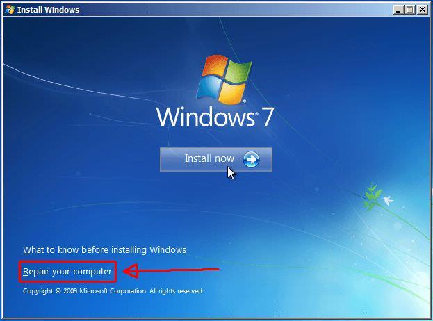 اصلاح الكمبيوتر - repair computer