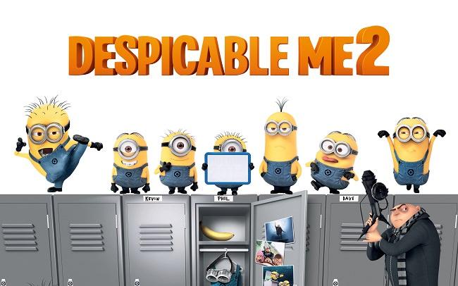 Despicable Me 2 - إجمالي الإيرادات 971 مليون دولار