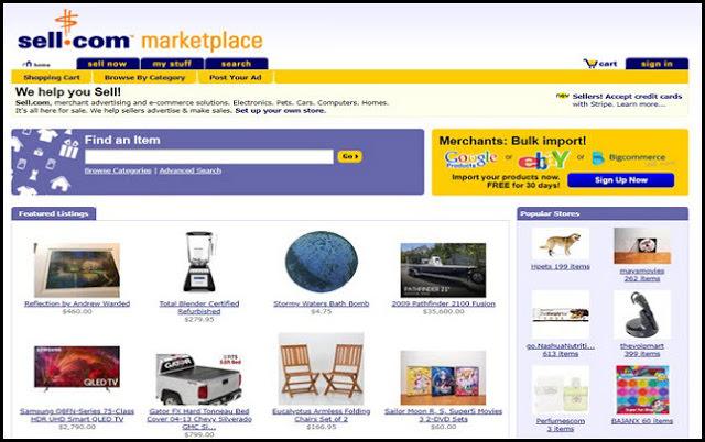 انشاء موقع لبيع وشراء الأشياء المستخدمة