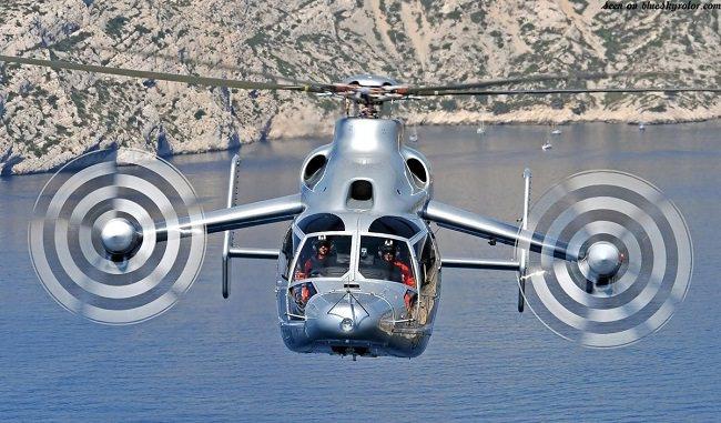 مروحية يوروكوبتر أكس 3، اسرع طائرات هليكوبتر في العالم - 472 كيلومتر/الساعة
