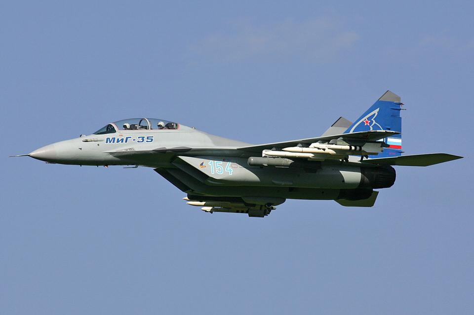 """المقاتلة """"ميغ-35"""" الروسية"""
