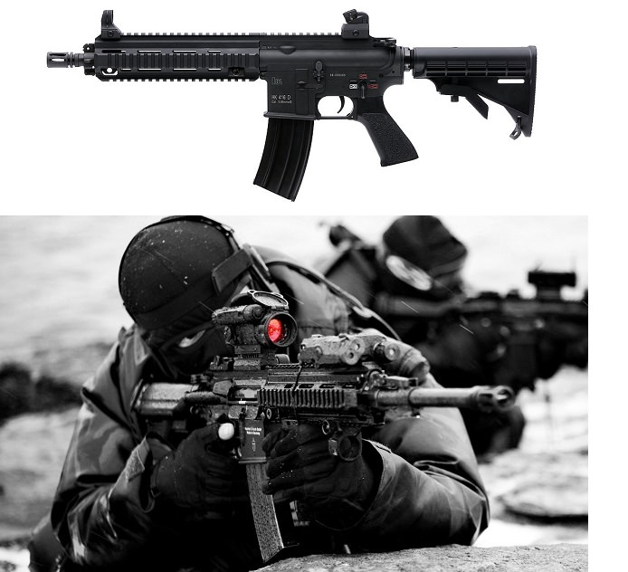 بندقية HK416 الهجومية