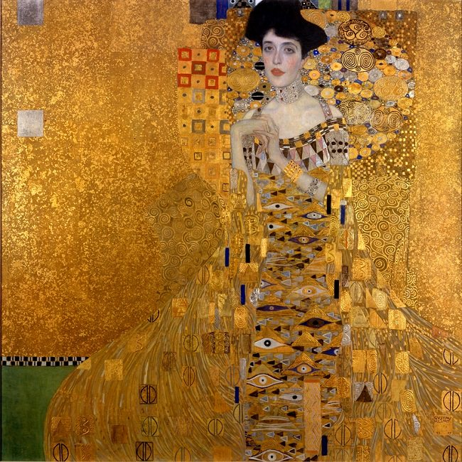 لوحة Portrait of Adele Bloch-Bauer I - ثمنها 135 مليون دولار