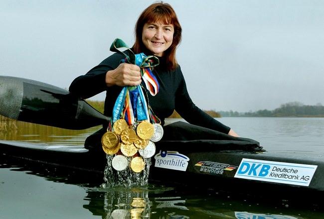 بريجيت فيشر - 12 ميدالية