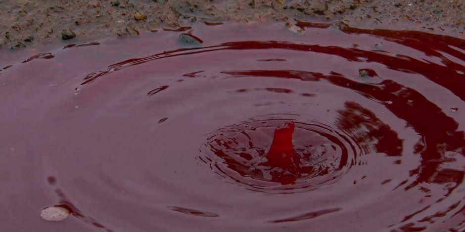 ظاهرة المطر الدموي