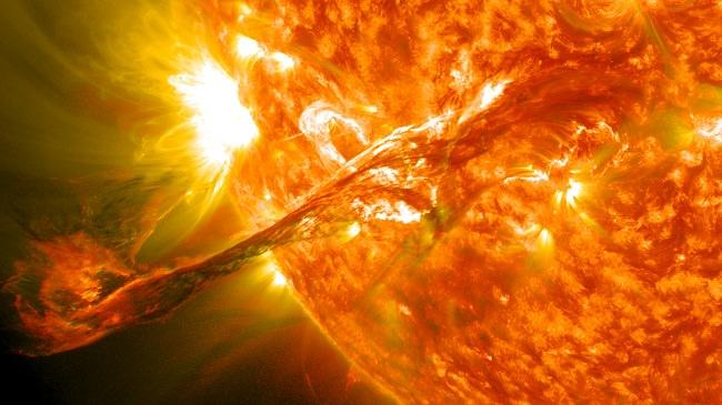 التوهجات الشمسية