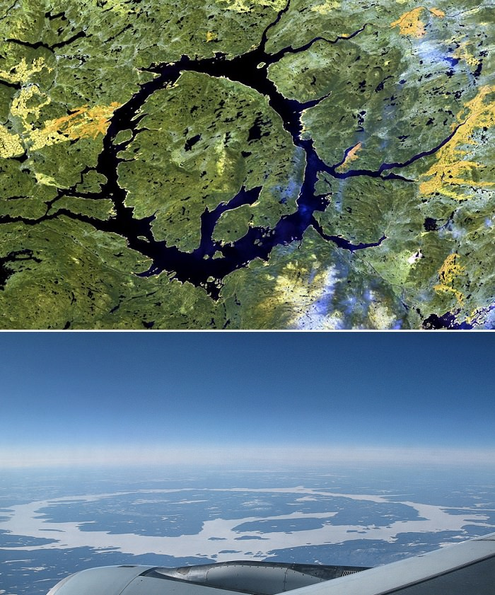 بحيرة مانيكوغان - كندا