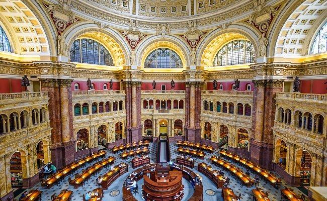 مكتبة الكونغرس - 160 مليون كتاب