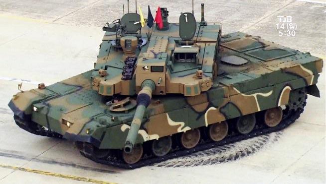 دبابات كيه 2 بلاك بانثر - كوريا الجنوبية