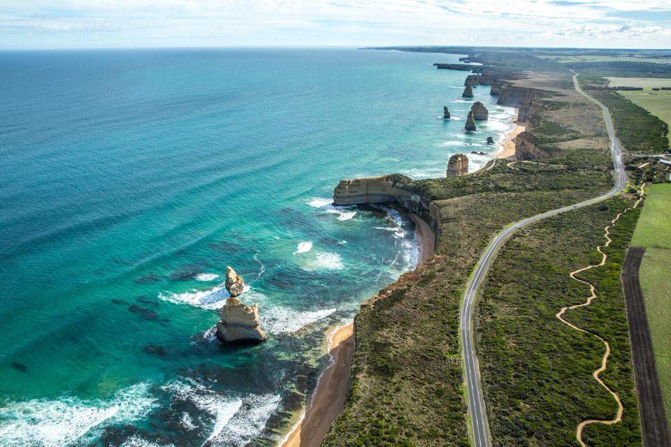 طريق المحيط العظيم - أستراليا ، اجمل الطرق في العالم
