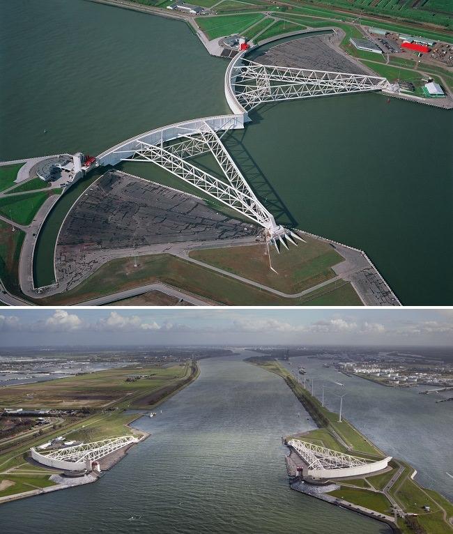 حاجز مايسلانتيرنج - ممر نيوي المائي، هولندا