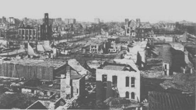 حرائق ميشيغان - الولايات المتحدة الأمريكية سنة 1871