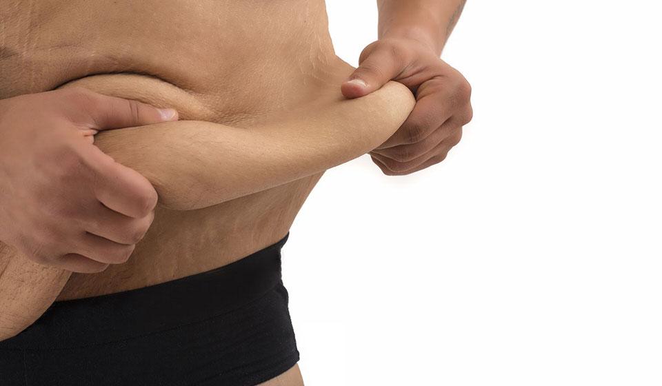 التهاب مكان الجرح و ترهل الجلد