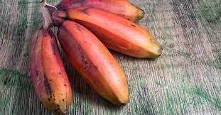 الموز الأحمر