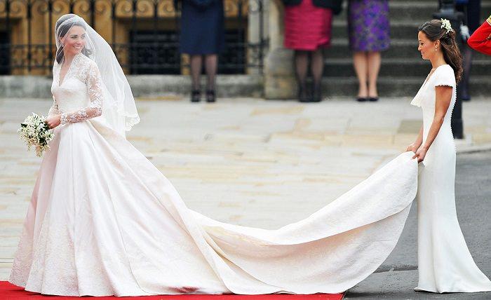 فستان زفاف الأميرة «كايت ميدلتون» - 400 ألف دولار