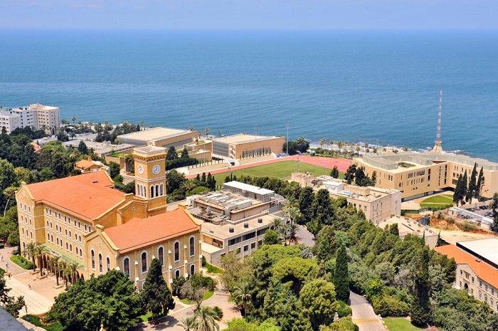 الجامعة الأميركية في بيروت، لبنان - 74.5 نقطة