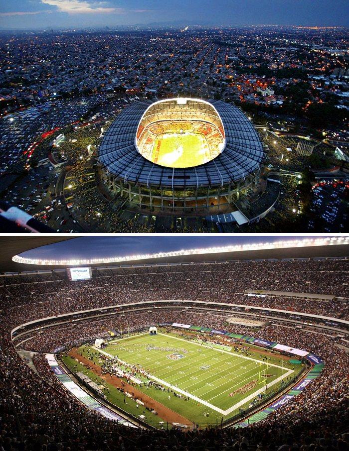 ملعب الأزتيك، المكسيك - 105 آلاف متفرج