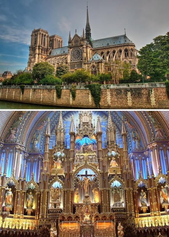كاتدرائية نوتردام - باريس، فرنسا