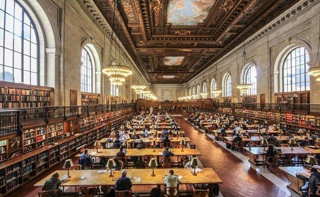 مكتبة نيويورك العامة - 53.1 مليون كتاب