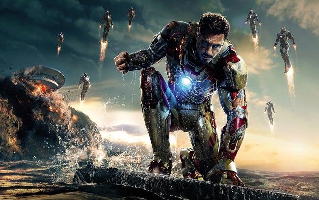Iron Man 3 - مجموع الإيرادات 1.215 مليار دولار