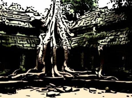 أشجار القطن الحريري