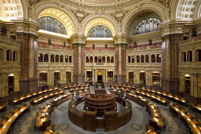مكتبة الكونجرس -واشنطن- 164 مادة