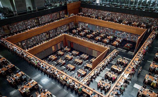 المكتبة الوطنية الصينية - 31.2 مليون كتاب